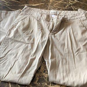 Women khaki pants